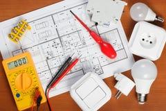 Electrical equipment Stock Photos