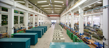 Electrical factory workshop Royalty Free Stock Photo