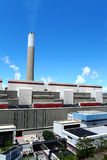 Electrical generating power plant Stock Photos