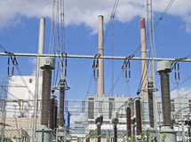 Electrical Generating Station Stock Image