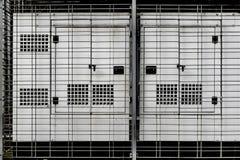 Electrical Generator Enclosure. Yangon, Myanmar Stock Images