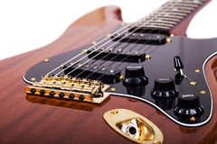 Electrical guitar Stock Image