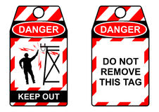 Electrical hazards. Royalty Free Stock Images