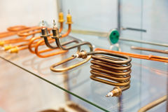 Electrical heat exchanger unit Stock Image