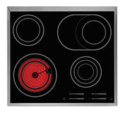 Electrical hob Royalty Free Stock Photos