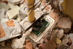 Electrical home repair Stock Photos