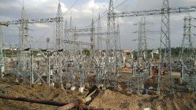 Electrical hybrid substation Stock Photography