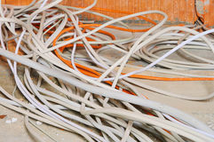Electrical installation Royalty Free Stock Photos