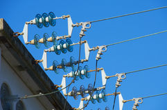 Electrical insulator Stock Photography