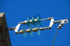 Electrical insulator Stock Image