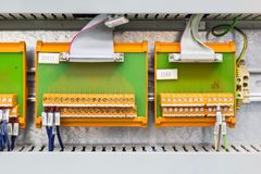 Electrical interface boards Royalty Free Stock Photos