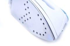 Electrical iron closeup isolation. On white Stock Photography