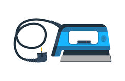 Electrical iron isolated vector icon Royalty Free Stock Images