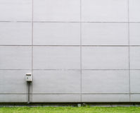 Electrical junction box on the wall Stock Photo