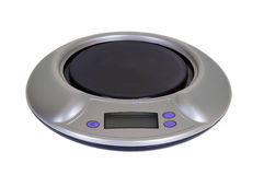 Electrical kitchen scale Royalty Free Stock Images