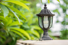 Electrical lamp Stock Photography