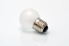 Electrical light bulb. On white background Royalty Free Stock Photography
