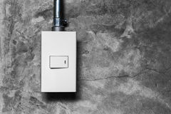 Electrical light switch Royalty Free Stock Images
