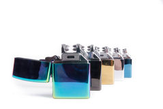Electrical lighters Stock Photography