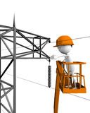 Electrical linemen Stock Photo