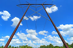 Electrical Lines Royalty Free Stock Photo