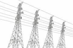 electrical lines power sky Στοκ φωτογραφία με δικαίωμα ελεύθερης χρήσης