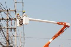 Electrical maintenance Royalty Free Stock Photo