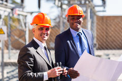 Electrical managers Royalty Free Stock Photos