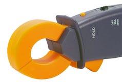 Electrical measurements clamp meter Stock Image