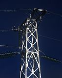 Electrical metal tower Royalty Free Stock Image