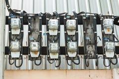 Electrical meter Royalty Free Stock Image