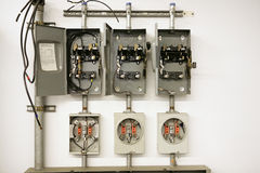 Electrical Meter Center Stock Photography