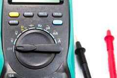 Electrical Multimeter Royalty Free Stock Photography