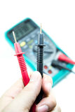 Electrical Multimeter Stock Image