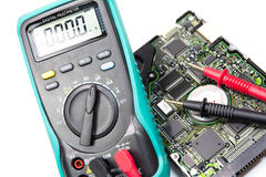 Electrical Multimeter Royalty Free Stock Image