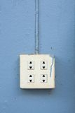 Electrical outlet Royalty Free Stock Photography