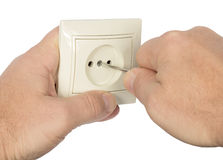 Electrical and outlet Stock Photos