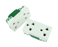 Electrical outlet (socket plug) Royalty Free Stock Photo