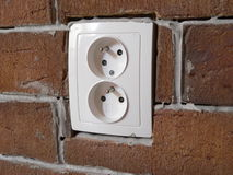 Electrical outlet Royalty Free Stock Photo