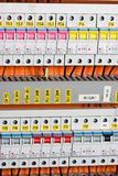 Electrical panel Stock Photography