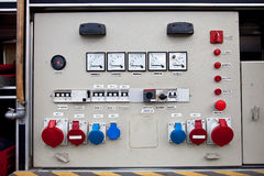Electrical panel Royalty Free Stock Image