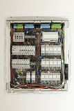 Electrical panel. Controls and switches Royalty Free Stock Images