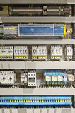 Electrical panel. With automation for process control Royalty Free Stock Images