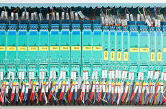 Electrical panel Stock Image