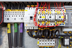 Electrical control panel Royalty Free Stock Photo