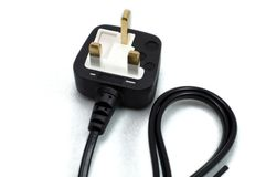 Electrical plug Royalty Free Stock Photo
