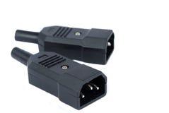 Electrical plug Royalty Free Stock Photo