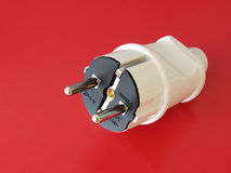 Electrical plug Stock Image
