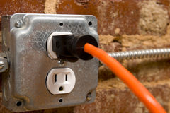 Electrical Plug Stock Photos