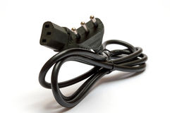 Electrical plug Royalty Free Stock Photos
